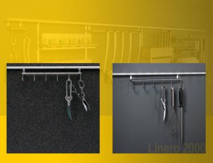 6 fach hakenleiste linero 2000 edelstahl relinghaken. Black Bedroom Furniture Sets. Home Design Ideas