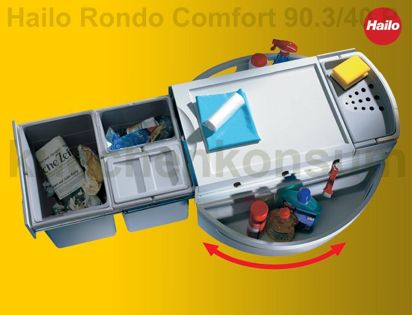 Hailo Rondo fort 3646 23 Eckabfallsammler Mülleimer