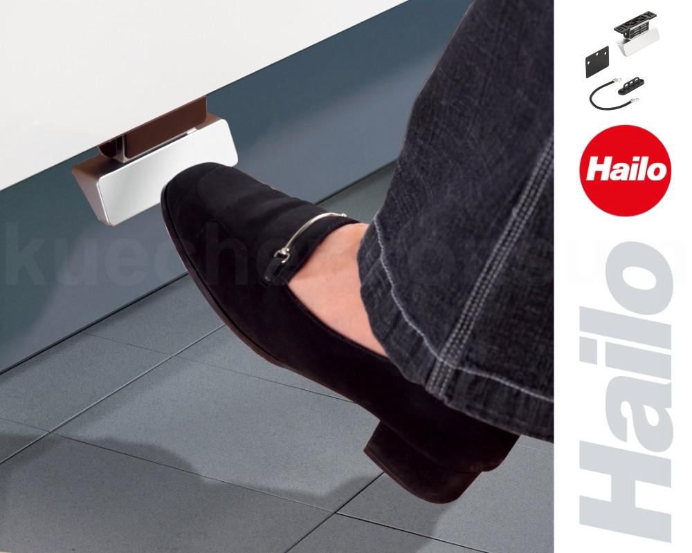 hailo fu pedal 3691 schrank ffnung f abfallsammler unterschrank auszug bowdenzug kaufen bei. Black Bedroom Furniture Sets. Home Design Ideas