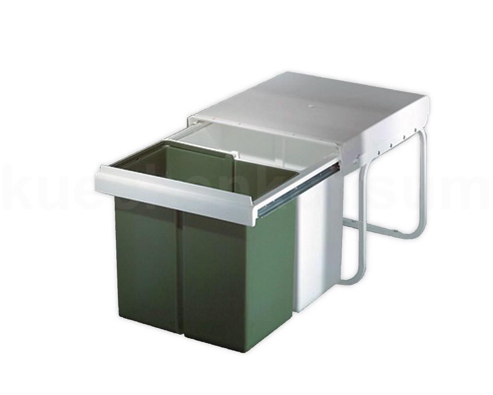 wesco abfallsammler 2x 15 l einbau m lleimer abfalleimer abfalltrennung einbau kaufen bei. Black Bedroom Furniture Sets. Home Design Ideas