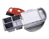Hailo Rondo Comfort 3647-24 Eckabfallsammle 90.4/40 P Abfalltrennsystem 4x10L