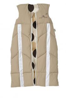 Schlafsack Prima Klima Power Kid 70-90 cm Beige von Odenwälder BabyNest 1076/960