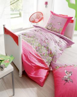biber bettw sche junior 135x200 80x80 cm kleine nachtmusik feenzauber eulenmotiv von kaeppel. Black Bedroom Furniture Sets. Home Design Ideas