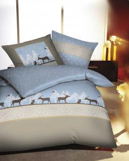 biber bettw sche 135x200 80x80 cm kleine nachtmusik elch und hase von kaeppel kaufen bei. Black Bedroom Furniture Sets. Home Design Ideas