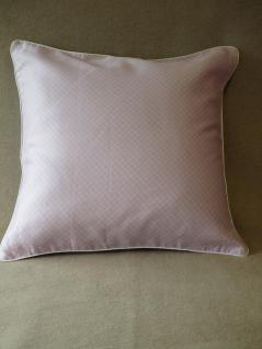 kissenbezug 40x40 cm wisley carnation v1 von laura ashley mako satin mit rei verschlu und keder. Black Bedroom Furniture Sets. Home Design Ideas