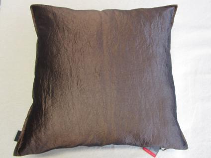 kissenbezug garcia 50x50 cm f r sofakissen farbe schokobraun von proflax kaufen bei betten. Black Bedroom Furniture Sets. Home Design Ideas