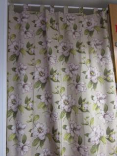 Vorhang mit Hängeschlaufen fertig konfektioniert 245x140 cm von Rico