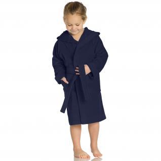 """Bademantel für Kinder """"Texie"""" von Vossen 100% Baumwolle Farbe winternight 476 Größe: 116"""