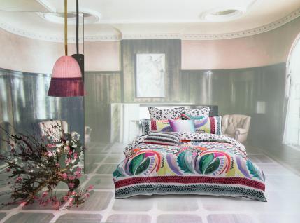 bettw sche 135x200 cm liliko multicolor von kas mit keder mako satin bettw sche garnitur. Black Bedroom Furniture Sets. Home Design Ideas