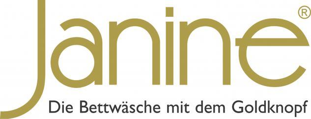 Bettwäsche 135x200 cm Mako-Satin J.D.by Janine Dessin 8472/07 taupe 100% naturreine Baumwolle - Die Bettwäsche mit dem Goldknopf - Vorschau 2