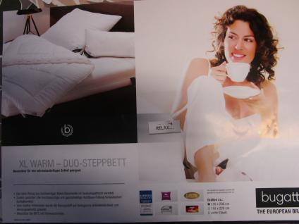 Bettdecke XL-Warm 135x200 cm von Bugatti Musterdecke zum Sonderpreis mit hochwertiger Faserfüllung kuschlig warme Winter-Bettdecke - Vorschau 3
