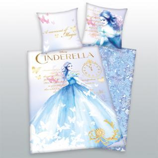 Cinderella Bettwäsche 135x200 + 80x80 cm 4479 14.050 von Herding