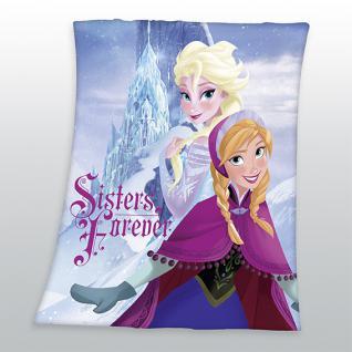 Kinderdecke 130x160 cm Eiskönigin Elsa 75800/79.035 Die Eiskönigin von Walt Disney/Herding - Vorschau 1