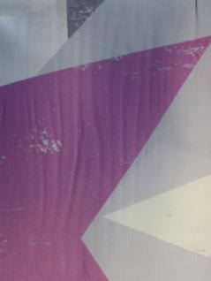 Bettwäsche 135x200 cm Mako-Satin 100% Baumwolle Garnitur Living Dreams Sterne silber-beere - Vorschau 4