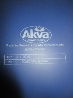 Wasserkopfkissen 40x80 cm von Akva individuell befüllbar inkl. Bezug 40x80 cm