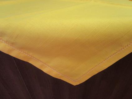 Tischdecke / Mitteldecke 85x85 cm von Bassetti Farbe sonnengelb - Vorschau 1