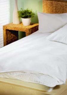 Allergiker Schonbezug 80x80 cm für Kopfkissen Schutzbezug von Setex für Kissen für Hausstauballergiker - Vorschau 3