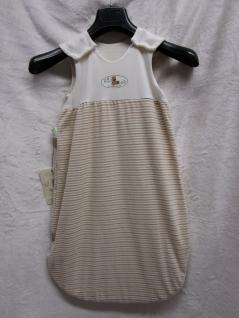 Schlafsack Bio Bob Größe 70 cm Art. 1083 von Odenwälder BabyNest Farbe natur - Vorschau 1