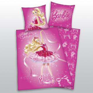 """Bettwäsche 135x200 + 80x80 cm """"Barbie"""" von Herding - Vorschau"""