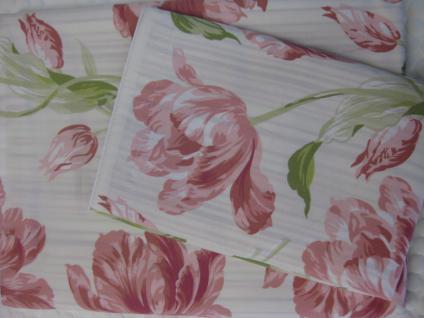 Bettwäsche Lakerton Cranberry v.1 von Laura Ashley 155x220 + 80x80 cm - Vorschau 1