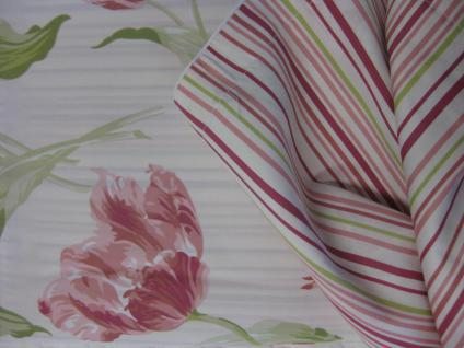 Bettwäsche Lakerton Cranberry v.1 von Laura Ashley 155x220 + 80x80 cm - Vorschau 3