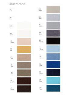 Kneer Kissenbezug Edel-Zwirn-Jersey mit Markenreißverschluss passend zu Nackenstützkissen wie z.B. Tempur viele Größen und aus 44 Farben wählen - Vorschau 2