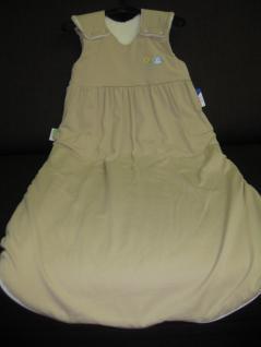 Schlafsack 90 cm Beige Jersey von Odenwälder BabyNest 1091/620 - Vorschau 3
