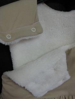 Schlafsack 90 cm Beige Jersey von Odenwälder BabyNest 1091/620 - Vorschau 4