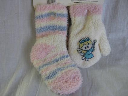 Baby Socken und Handschuhe in kuschliger Qualität je 1 Paar - Vorschau 3