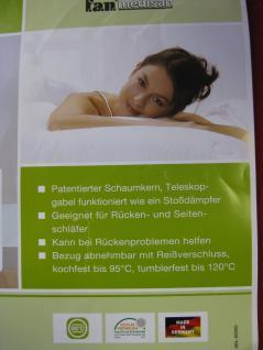Nacken-Stützkissen 40x80x13 cm Sleep&Care mit Bezug Nackenstützkissen Patent - Vorschau 3