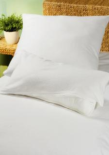 Allergiker Schonbezug 80x80 cm für Kopfkissen Schutzbezug von Setex für Kissen für Hausstauballergiker