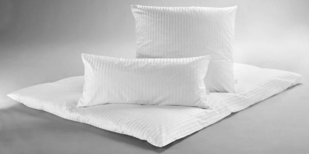 Kochfeste Bettwäsche Kissenbezug von Dormisette 80x80 cm