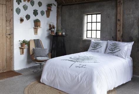 Bettwäsche 135x200 Silence 700697 von Walra 100 % Baumwolle Garnitur mit Kissen