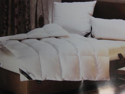 Daunendecke, warm 155x220 cm von Bugatti Bettdecke Allyear 100 % neue weiße Gänse-Daune Ganz-Jahresdecke Sonderpreis wegen Sortimenwechselts - Vorschau 1