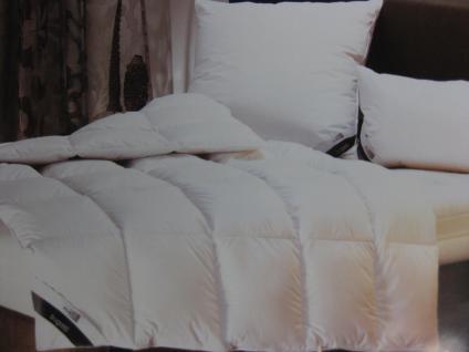 Daunendecke, warm 155x220 cm von Bugatti Bettdecke Allyear 100 % neue weiße Gänse-Daune Ganz-Jahresdecke Sonderpreis wegen Sortimenwechselts - Vorschau 4