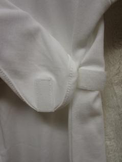 Innen-Schlafsack Baumwolle Größe 68 cm von Odenwälder BabyNest Farbe weiss - Vorschau 3