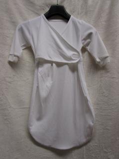 Innen-Schlafsack Baumwolle Größe 68 cm von Odenwälder BabyNest Farbe weiss - Vorschau 1
