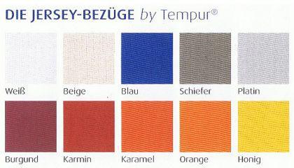 Jersey-Bezüge für TEMPUR Schlafkissen Original by TEMPUR