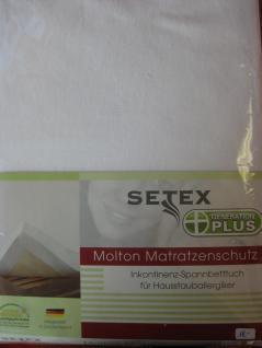 Molton Matratzenschutz 70x140 cm Junior fürs Kinderbett mit Nässeschutz von Setex - Vorschau 2