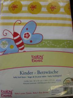 """Kinder Bettwäsche 100x135+40x60 cm """"Alina Schmetterling"""" von Herding"""