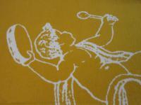 Tischläufer 45x140 cm Weihnachtsmotiv Engel