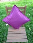 Kissenbezug Villa 40x40 cm für Dekokissen Farbe Purple von Proflax
