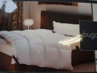 Daunendecke, XXL Warm 135x200 cm Bettdecke von Bugatti 100% Gänse-Daune Musterdecke