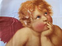 Bettbezug 155x220 cm Mako-Satin Engelmotiv von Kaeppel