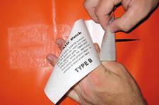 Reparatur-Set Tear-Aid Repair für Wasserbetten und andere Vinyle wie Zelte, Boote etc. von Stricker
