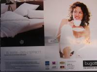 Bettdecke XL-Warm 155x220 cm Duo-Bettdecke von Bugatti mit hochwertiger Faserfüllung kuschlig warme Winter-Bettdecke