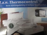Bettdecke Thermocontrol Vierjahreszeiten-Steppbett 135/200 cm von f.a.n. Frankenstolz softer Schlafkomfort