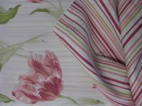 Laura Ashley Mako-Satin-Bettwäsche Garnitur 155x220 cm Lakerton Cranberry