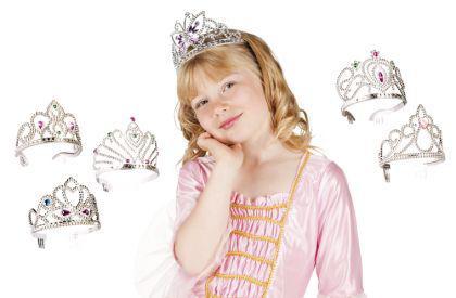 Diadem Haarreif Krone Königin Prinzessin - Vorschau