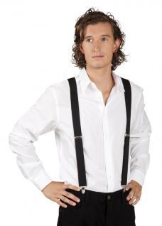 Hosenträger schwarz schwarzfarbene Hosenträger
